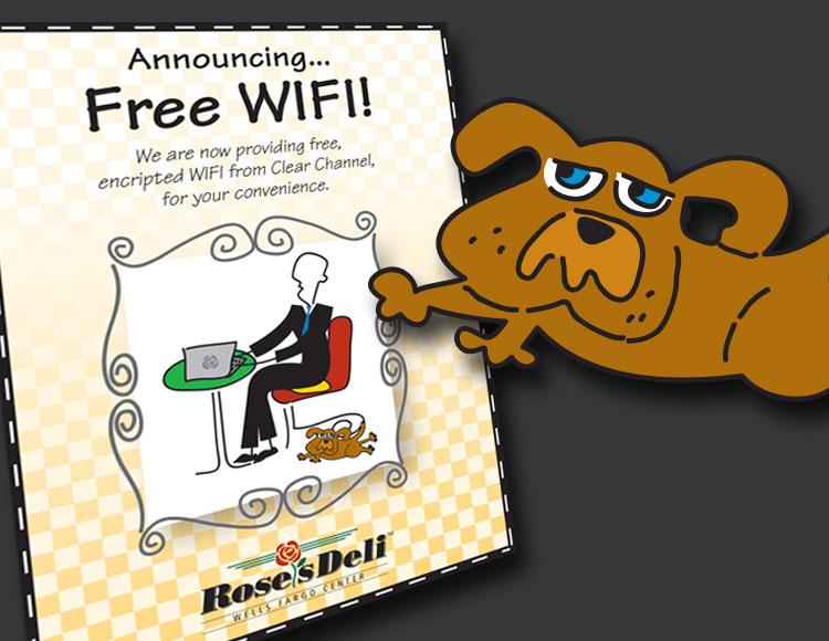 Rose's Deli WiFi