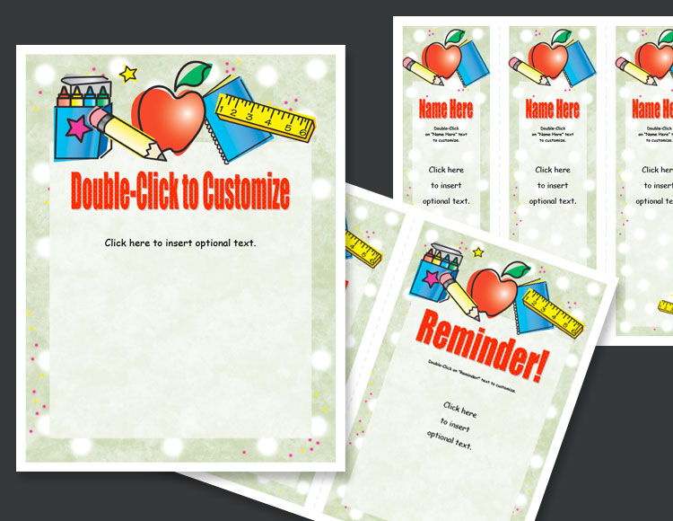 Xerox K-3 Teacher Printables