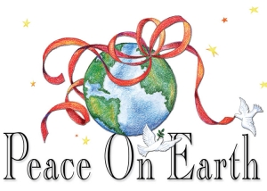 Peace on Earth - Color Pencil