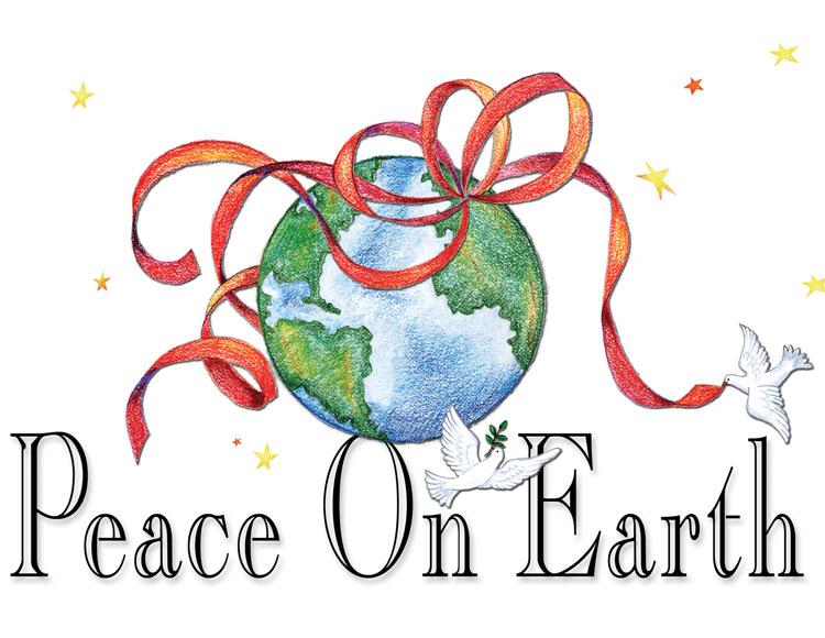 Peace on Earth - Color Pencil